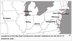 Big East Schools